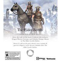 Elder Scrolls Online DLC Dragon Warrior Costume - Yokudan Charger Mount Playstation 4