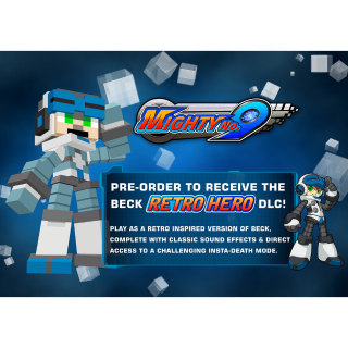 Mighty No. 9 Ray Expansion DLC + Retro Hero Beck DLC Xbox One