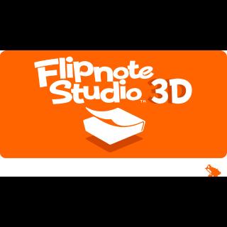 Flipnote 3D Studio Nintendo 3DS