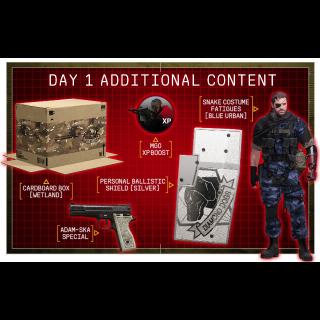 Metal Gear Solid V 5: The Phantom Pain Day 1 DLC Xbox 360