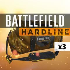 Battlefield Hardline 3 X Gold Battlepacks DLC Playstation 4