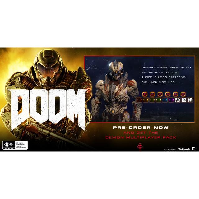 Doom Demon Multiplayer Pack DLC Xbox One - XBox One