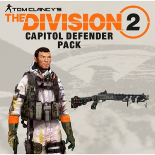 Tom Clancy's The Division 2 - The Capitol Defender Pack DLC PS4 US