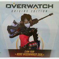 Overwatch Origins Noire Widowmaker Skin DLC Xbox One