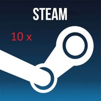10 Steam Keys