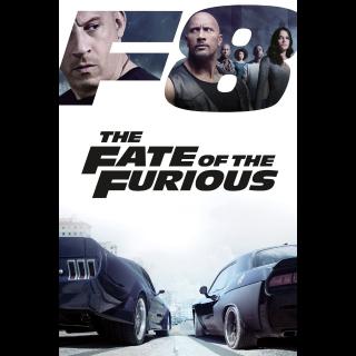 The Fate of the Furious 4K Vudu