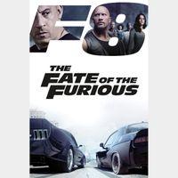 The Fate of the Furious|4K|Vudu