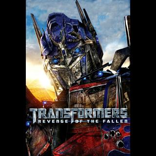 Transformers: Revenge of the Fallen|HDX|Vudu