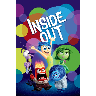 Inside Out|HDX|Vudu/Movies Anywhere