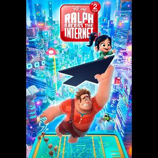 Ralph Breaks the Internet| 4K UHD| Vudu/ MA