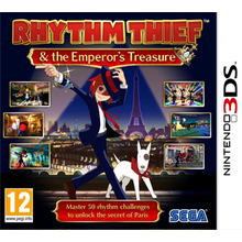 Rhythm Thief & the Emperor's Treasure - 3DS