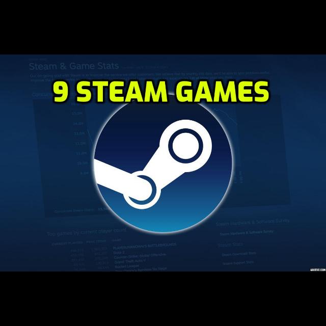 9 Steam Games STEAM