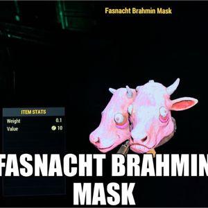Apparel | Fasnacht Brahmin Mask
