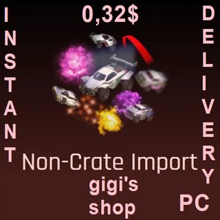 50x Non Crate Imports