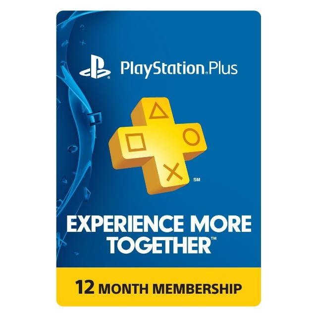 1 year playstation plus membership ps3 ps4 ps vita digital code