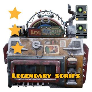 Other | 2400x Legendary Scrips