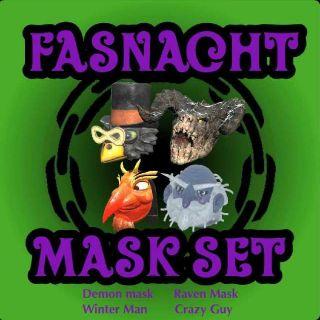 Apparel | Fasnacht Mask Set