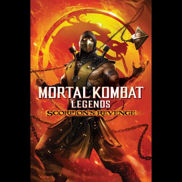 Mortal Kombat Legends Scorpion S Revenge Hd Actual Digital Code