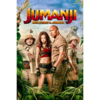 Jumanji: Welcome to the Jungle 4K UHD