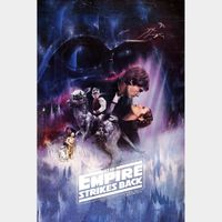 The Empire Strikes Back 4K UHD Movies Anywhere Digital Code