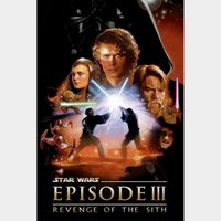 Star Wars: Episode III - Revenge of the Sith 4K UHD Movies Anywhere Digital Code
