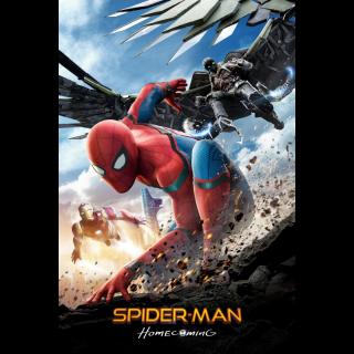 Spider-Man: Homecoming 4K UHD MOVIES ANYWHERE