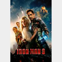 Iron Man 3 4K UHD Movies Anywhere Digital Code