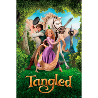 Tangled 4k UHD with DMR Points