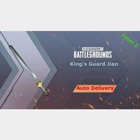 PUBG | King's Guard Jian