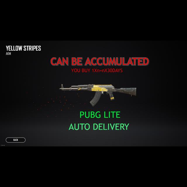 PUBG | PUBG LITE YELLOW AKM - PlayerUnknown's Battlegrounds