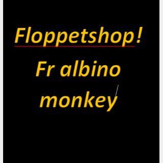 Pet   FR ALBINO MONKEY
