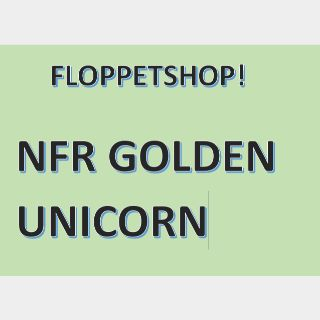 Pet   NFR GOLDEN UNICORN
