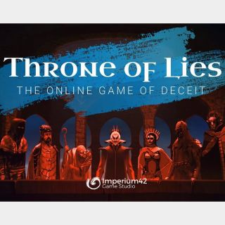 Throne of Lies® The Online Game of Deceit [ Steam Key, Instant Delivery ]