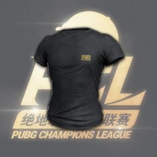 PUBG   PCL BLACK T-SHIRT