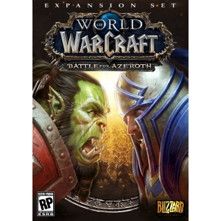 World of Warcraft Battle for Azeroth EUROPE DLC