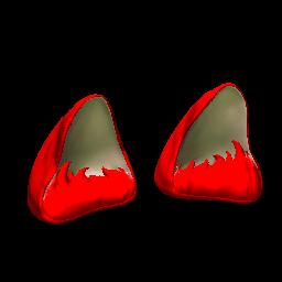 Wildcat Ears | Crimson