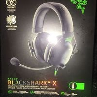 Razer BlackShark V2 X Wired Gaming Headset with TriForce 50mm Driver HyperClear Noise Reduction Mic