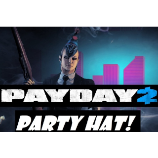 PAYDAY 2 Party Hat DLC (Global Steam Key/ Instant Delivery)
