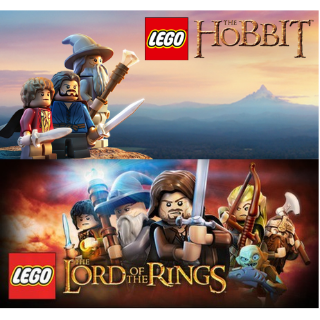 Lego Lord of the Rings + Lego The Hobbit Steam Keys Bundle (Global Keys/ Instant Delivery)