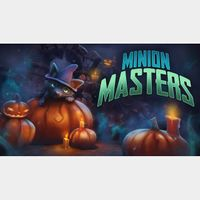 Premium Minion Masters Pack: 5 Power Tokens + 1 Random Legendary Card (Global Code/ Instant Delivery/ For PC or XBOX )