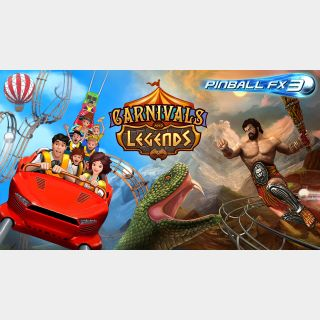 Pinball FX3 Carnivals and Legends DLC (Global Code/ Instant Delivery)