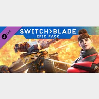 Switchblade Pack Steam Key Code (Global Key Code/ Instant Delivery)