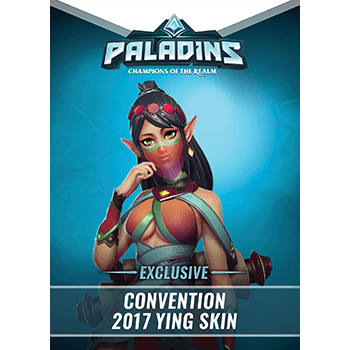 Paladins - Exclusive Ying Convention 2017 Hero + Skin
