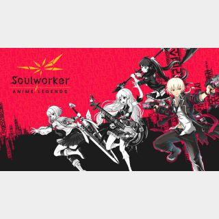 SoulWorker Anime Legends - Legends Pack Random+ (Global Code/ Instant Delivery)