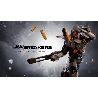 LawBreakers Exclusive Weapon Sticker Steam Key (Global Key/ Instant Delivery)