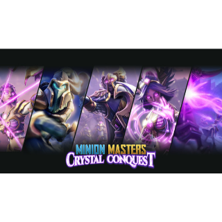 Minion Masters: Crystal Conquest DLC (PC, Xbox One, or Discord/In-Game Global Code/ Instant Delivery)
