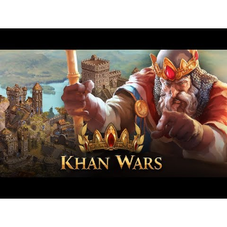Rare 25€ Starter Pack for Khan Wars (Global/ Instant Delivery Code)