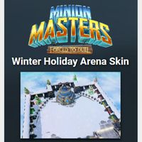 Minion Masters Winter Holiday Arena Skin (Global Code/Instant Delivery)