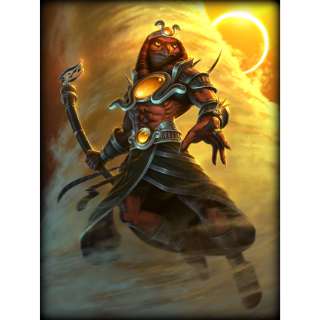 SMITE Solar Eclipse Ra Skin Code (Global Code/ Instant Delivery/ PC ONLY)
