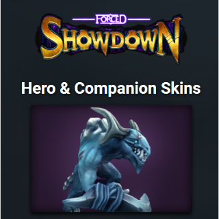 Forced Showdown Hero & Companion Skins (Global Steam Key/ Instant Delivery)